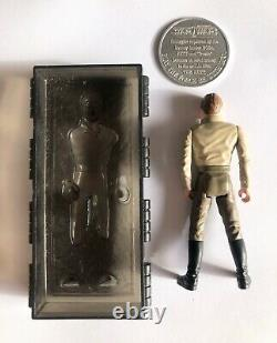 Star Wars Han Solo in Carbonite with Coin. 1985 Vintage Rare