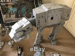 Star Wars Job Lot Vintage Figures Imperial Stormtrooper At-At Boxed Darth Vader