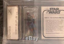 Star Wars Kenner Vintage Boba Fett Mailer/Mail-away AFA 70 Baggie 1979