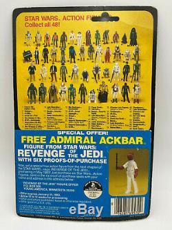 Star Wars Kenner Vintage ESB 1982 48 Back Han Solo Bespin MOC Empire Strikes