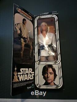 Star Wars Kenner Vintage Luke Skywalker 1979 12 Large Doll/Figure WithBox