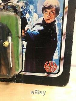 Star Wars Lili Ledy Luke Skywalker Jedi Vintage Kenner Cardback AFA Reseal MOC