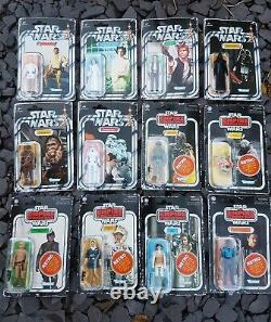 Star Wars MOC Retro Collection Complete SW ESB Boba Fett Wave 1 2 Carded vintage