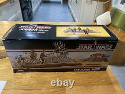 Star Wars Power of The Force Vintage Tatooine Skiff With Box Excellent