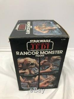 Star Wars ROTJ Kenner Vintage Jabba's Palace Rancor Monster Unused with Box Insert