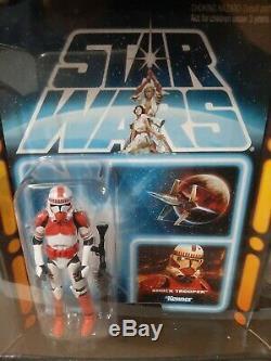 Star Wars SDCC 2012 7 PACK with Jar Jar Binks Carbonite MIB MOC NRFB Vintage Coll