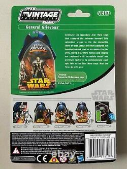 Star Wars TVC Vintage Collection Action Figure GENERAL GRIEVOUS MOC