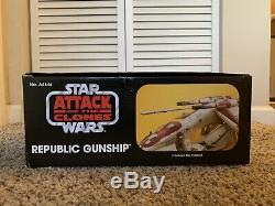 Star Wars The Vintage Collection Republic Gunship