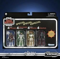 Star Wars The Vintage Collection The Bad Batch Special 4-pack (Amazon Exclusive)