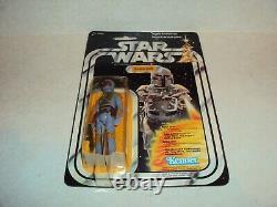 Star Wars Vintage 1979 Boba Fett 20 Back Canadian Kenner Canada Gde Moc