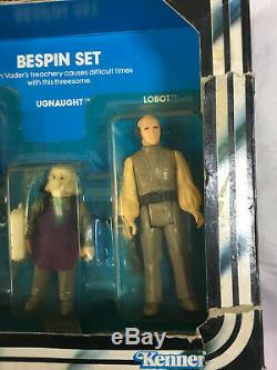 Star Wars Vintage 1981 Kenner ESB 3-Pack Bespin Set Han Solo Ugnaught Lobot