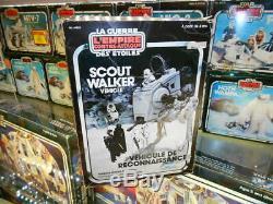 Star Wars Vintage 1982 Kenner Canadian Canada GDE Scout Walker Vehicle Boxed