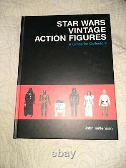 Star Wars Vintage Action Figures A Guide for Collectors by John Kellerman book