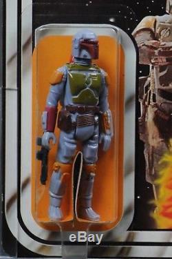 Star Wars Vintage Boba Fett 21 Back-B AFA 85 (85/85/80) Unpunched MOC