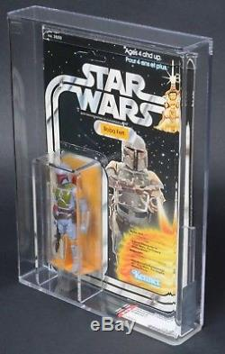 Star Wars Vintage Canadian Boba Fett 20 Back-B AFA 70 (75/70/80) Unpunched MOC