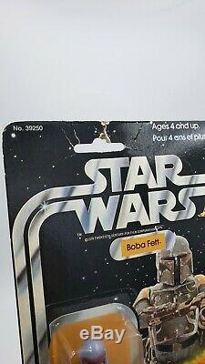 Star Wars Vintage Canadian Boba Fett 20 Back La Guerre Des Etoiles Kenner MOC