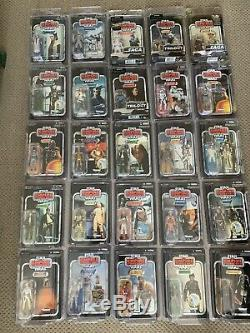 Star Wars Vintage Collection 190 mint Figures In Protective Cases VC1 VC149