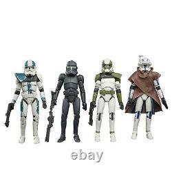 Star Wars Vintage Collection 3.75 Bad Batch Special 4-Pack Rex Ballast Grey