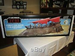 Star Wars Vintage Collection Jabba's Sail Barge Khetanna, Yakface Haslab