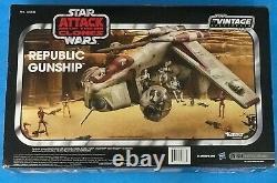 Star Wars Vintage Collection Republic Gunship Tru Exclusive Sealed Box