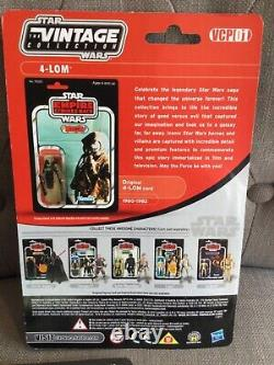 Star Wars Vintage Collection Vcp 01 Vcp 02 Zuckass & 4-lom Foil Cards Mint