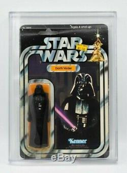Star Wars Vintage Darth Vader AFA 80 (80/80/80) 21 Back B Kenner