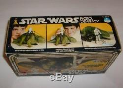 Star Wars Vintage Dewback Figure Unused New In Box Kenner 1977