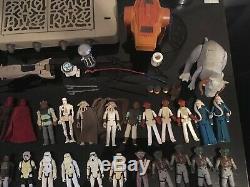 Star Wars Vintage Figure Toys Kenner 1977 1983 Rate Job Lot 66 Figures Etc