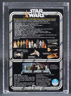 Star Wars Vintage Han Solo Small Head 12 Back-C AFA 85 (85/85/85) Unpunched MOC