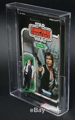 Star Wars Vintage Han Solo Small Head ESB 31 Back-A AFA 80 (80/85/85) MOC