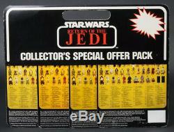 Star Wars Vintage Italian 4 Pack Lumat/Emperor/Rebel Soldier/Teebo MOC