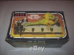 Star Wars Vintage Jabba The Hutt Figure Playset Unused New In Box Kenner Jedi