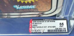 Star Wars Vintage Jawa Afa/cas 85 Moc 20 Back First 12 1978 Boba Fett Offer