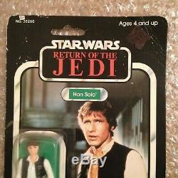 Star Wars Vintage Kenner 1983 Han Solo Return Of The Jedi MOC Mint On Card