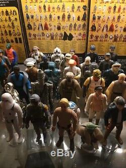Star Wars Vintage Kenner Figures 96 Full Set Empire Jedi Last 17