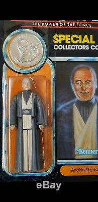 Star Wars Vintage Kenner Potf Moc Anakin C8+ Condition Afa It Holy Grail