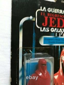 Star Wars Vintage Lili Ledy Emperor's Royal Guard 30 Back Very Rare Mexico LOOK