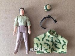 Star Wars Vintage Lili Ledy Leia Combat Poncho Factory Error Overstock Unpainted
