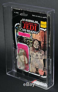 Star Wars Vintage Lili Ledy Lumat ROTJ Regreso 50 Back AFA 50 (50/50/85) MOC