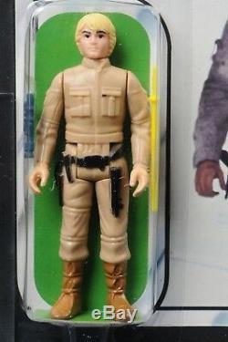 Star Wars Vintage Luke Bespin ESB 31 Back-B AFA 85 (85/85/85) MOC