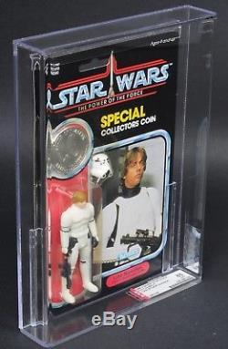 Star Wars Vintage Luke Stormtrooper POTF AFA 85 (85/85/85) MOC
