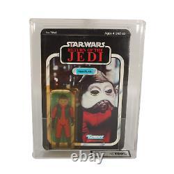 Star Wars Vintage Nien Nunb ROTJ MOC (UKG / AFA 80)