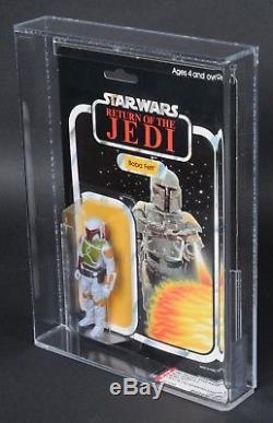 Star Wars Vintage Palitoy Boba Fett ROTJ 45 Back-C AFA 85 (85/85/85) MOC