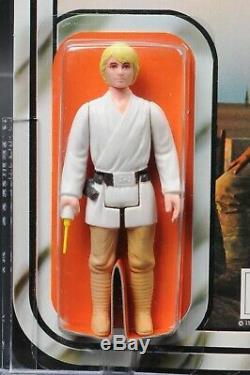 Star Wars Vintage Palitoy Luke Skywalker 12 Back-B AFA 85 (85/85/85) UP MOC