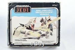 Star Wars Vintage Palitoy ROTJ Rebel Snowspeeder 1980 Fully Working Boxed