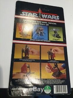 Star Wars Vintage Power Of The Force Sand Skimmer Vehicle With Backing Card