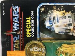Star Wars Vintage R2-D2 Pop-Up Lightsaber Power of the Force Kenner 1985 POTF