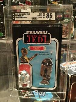 Star Wars Vintage R2-d2 65 Back B Graded Afa 85 @@ Gorgeous @@