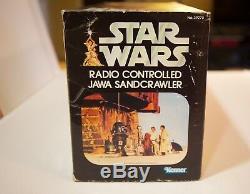 Star Wars Vintage Radio Controlled Jawa Sandcrawler Very Rare! Mib