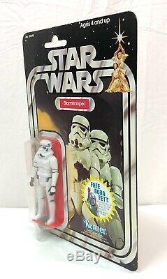 Star Wars Vintage STORMTROOPER 20 21 Back Kenner 1978 MOC High Grade